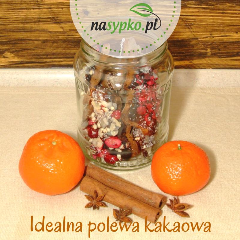 Idealnie gładka polewa kakaowo-karobowa